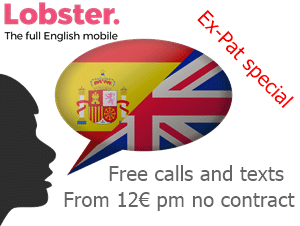 Lobster mobile phones in Spain