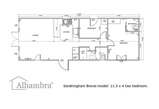 2022 model Sandringham park home